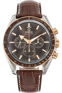18K Rose Gold Speedmaster and Stainless Steel Speedmaster Broad Arrow Co-Axial Automatic