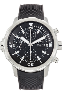 Stainless Steel Aquatimer Chronograph Automatic