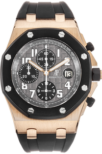 18K Rose Gold Royal Oak Offshore Chronograph Automatic