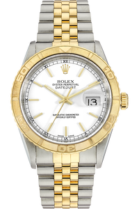 18K Yellow Gold and Stainless Steel Datejust Turn-O-Graph Automatic