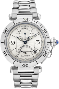 Pasha GMT Power Reserve Stainless Steel Automatic