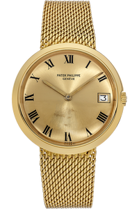 Calatrava Reference 3565 Circa 1960s Yellow Gold Automatic