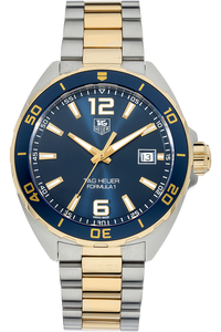 18K Yellow Gold and Stainless Steel Formula 1 Quartz