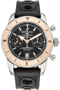 SuperOcean Chronograph Heritage Rose Gold and Stainless Steel Automatic