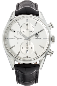 Stainless Steel Carrera Calibre 1887 Chronograph Automatic
