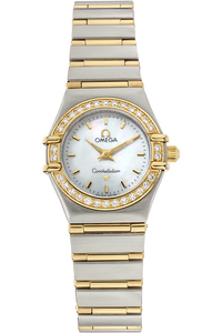 18K Yellow Gold and Stainless Steel Constellation Quartz