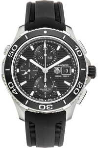Stainless Steel Aquaracer 500 Calibre 16 Chronograph Automatic