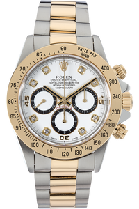 18K Yellow Gold and Stainless Steel Daytona Automatic