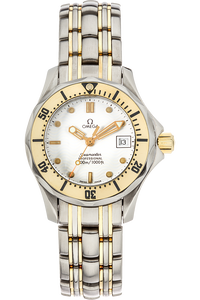 Seamaster Professional Yellow Gold and Stainless Steel Quartz