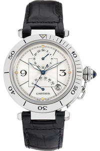 Stainless Steel Pasha GMT Automatic