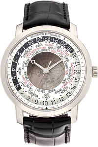 Traditionnelle World Time White Gold Automatic