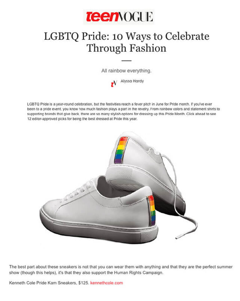 Teen Vogue - Pride Kam