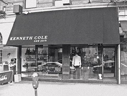 THE FIRST STORE OPENS ON COLUMBUS AVENUE IN NYC.