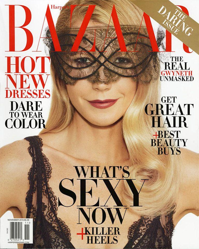 Harper's Bazaar – November 2016