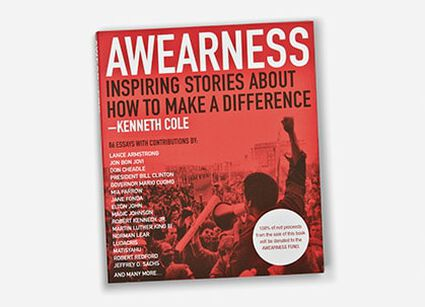 KCP LAUNCHES AWEARNESS, THE KENNETH COLE FOUNDATION, TO ENCOMPASS ALL OF THE COMPANY'S PHILANTHROPIC EFFORTS.
