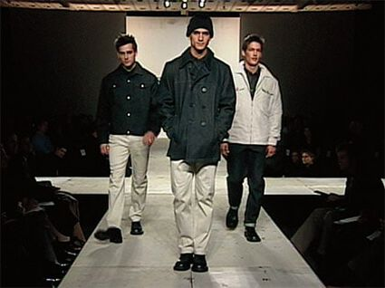 FIRST KENNETH COLE NEW YORK RUNWAY SHOW HELD AT THE NEW YORK PUBLIC LIBRARY
