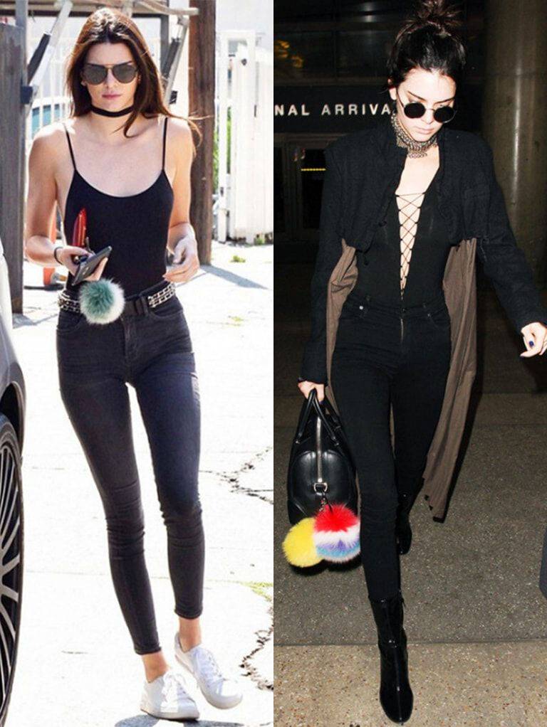 "Who What Wear – Kendall Jenner on the ""Best Way to Go Braless"""