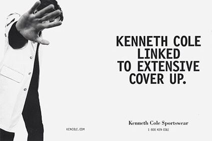 KENNETH COLE NEW YORK LAUNCHES MEN'S SPORTSWEAR.