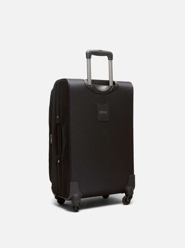 24 Inch Going Places 4-Wheel Suitcase, BLACK