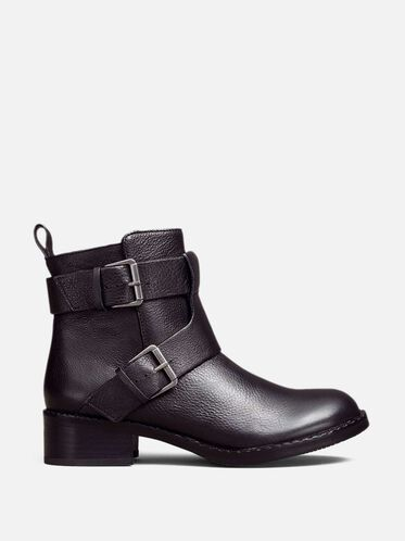 Best Of Leather Moto Boot, BLACK, hi-res