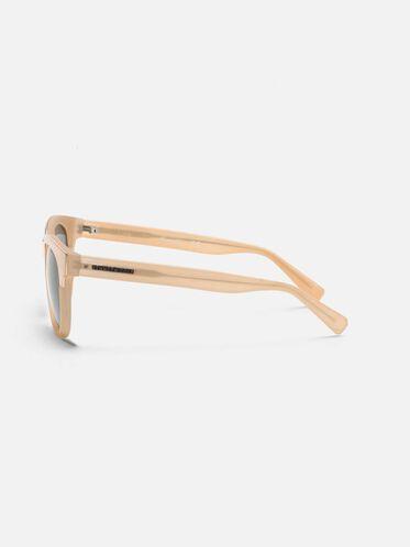 Milky Nude Round Polarized Glasses, MBEIG/SMKPZ