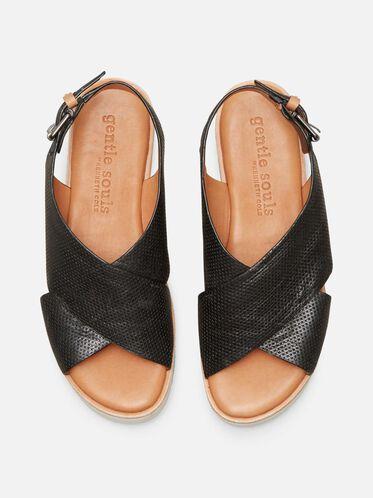 Kiki Platform Sandal, BLACK