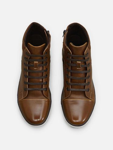 All Crown Up Sneaker, COGNAC