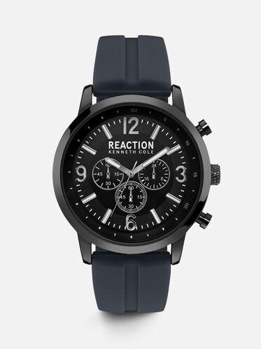 Multi-Functional Grey Silicon Watch, NO COLOR