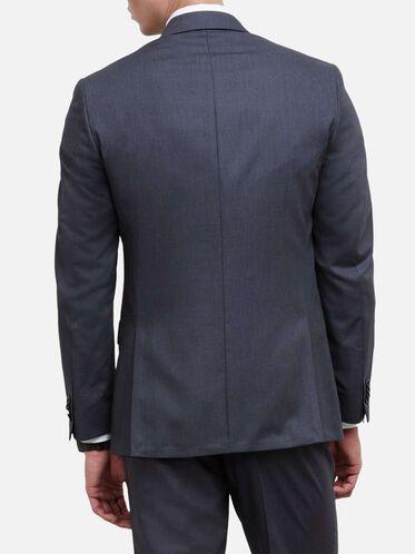 Slim-Fit Notch-Lapel Suit Jacket, 030GREY, hi-res