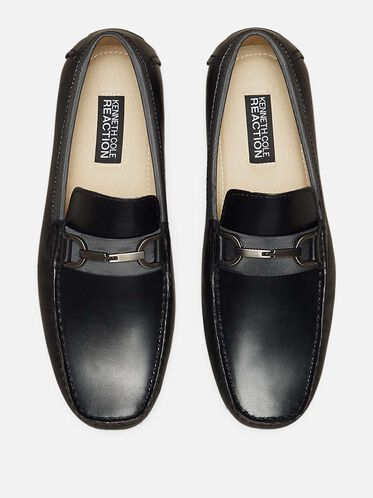 Sound Proof Leather Loafer, BLACK