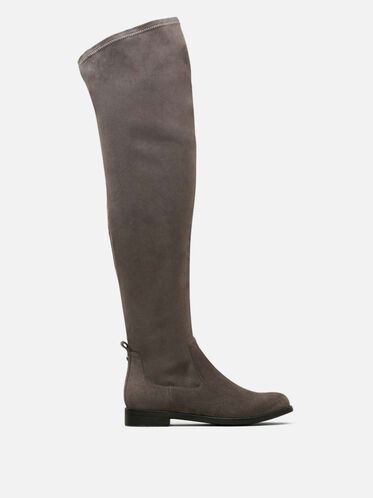 Wind Free Over The Knee Boot, CHARCOAL, hi-res