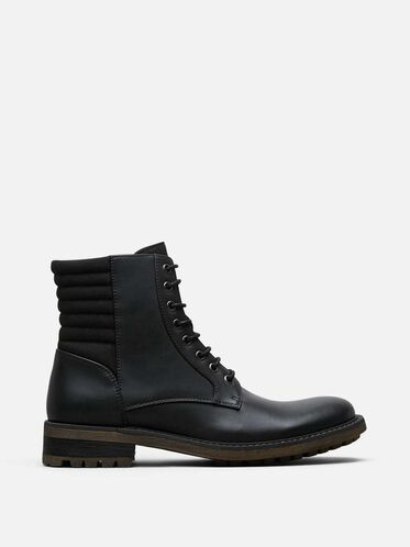Beat It Lace-Up Boot, BLACK, hi-res