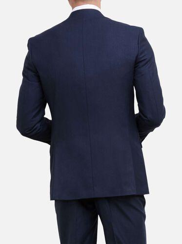 Slim-Fit Notch-Lapel Suit Jacket, 421BLUE, hi-res