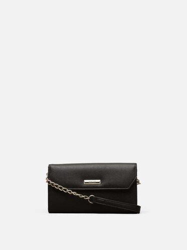Liza Cross-Body Bag, BLACK