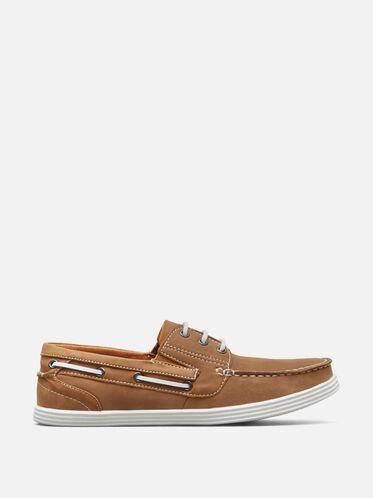 Boat-Ing License Boat Shoe, TAN