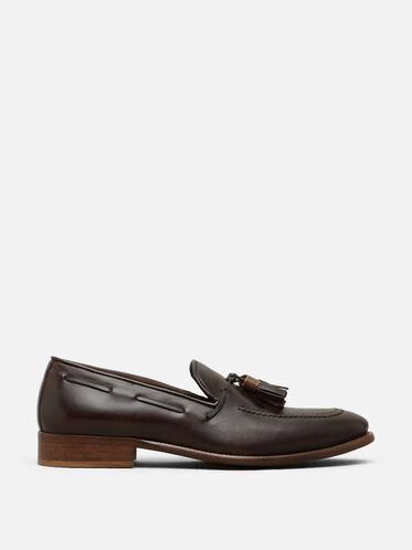 Thrill-iant Leather Loafer, ESPRESSO