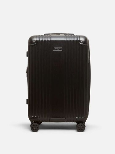 24 inch Tribeca Expandable Upright Suitcase, BLACK
