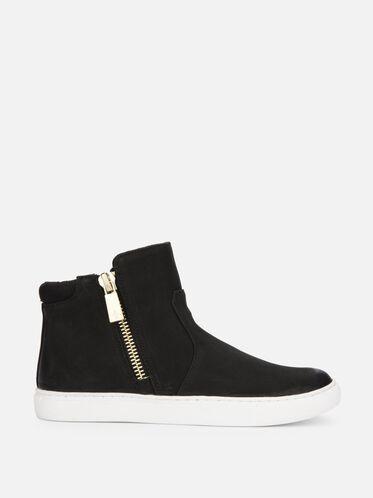 Kiera Nubuck Sneaker, BLACK