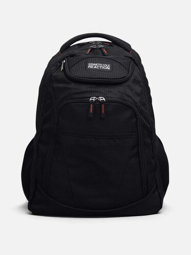 Nylon Backpack, BLACK