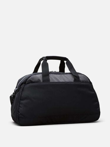 Just The Two Of Us Duffel With Removable Tech Pouch, BLACK