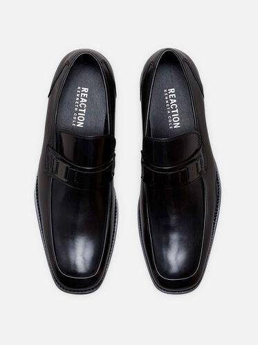 Near D Mark Bit Detail Loafer, BLACK