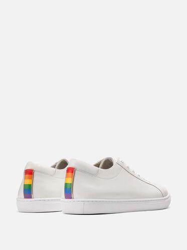 Pride Kam Sneaker for Him, WHITE MULT