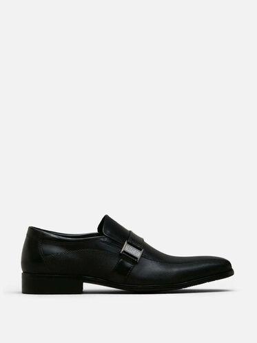 Good News Leather Loafer, BLACK, hi-res