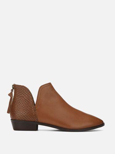Loop Hoops Ankle Boot, MEDIUM BROWN