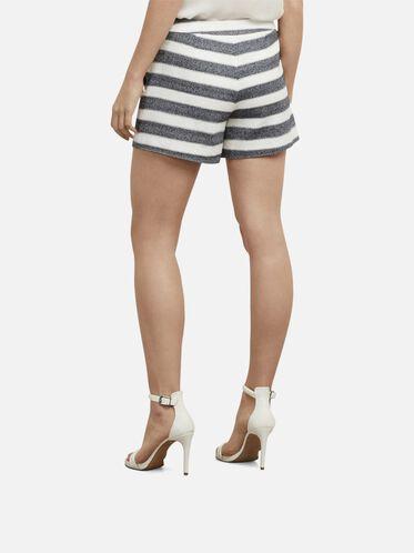 Striped Shorts, D MRNE/ECRU, hi-res
