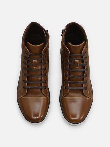 All Crown Up Sneaker, COGNAC