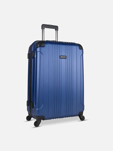 28 Inch Out Of Bounds 4-Wheel Suitcase, COBALT