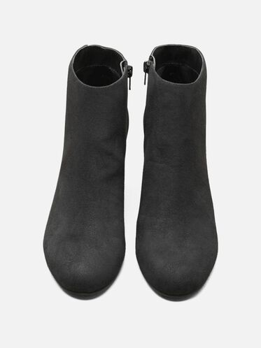 Free Time Ankle Bootie, BLACK