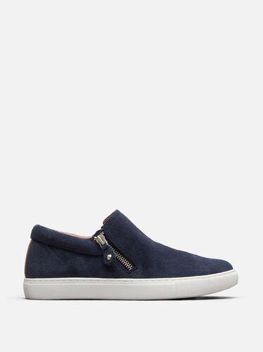 Lowe Suede Sneaker, NAVY