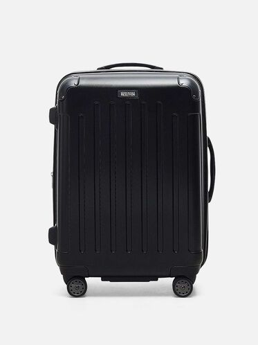 Renegade 24 Inch Expandable Upright Suitcase, BLACK, hi-res